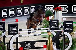 Schröder Gerco, (NED), Glock's Lausejunge<br /> MEVISTO Amadeus Horse Indoor Salzburg<br /> © Hippo Foto - Stefan Lafrentz<br /> 11-12-2016