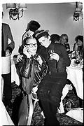 Michael Clark and Judy Montgomery,  Leukemia Ball, Hurlingham Club, 15 July 1985. © Copyright Photograph by Dafydd Jones 66 Stockwell Park Rd. London SW9 0DA Tel 020 7733 0108 www.dafjones.com