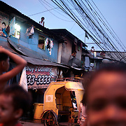 A street scene during the early evening on September 20, 2008 in Adriatico Street, Malate, Manila, the Philippines. Photo Tim Clayton