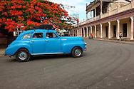 Old car in Ciego de Avila, Cuba.