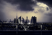 Storm Over Dubai - U.A.E.
