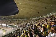 Belo Horizonte, 02 de junho de 2004. Jogo pelas eliminatorias da Copa do Mundo de 2006. Brasil 3 vs 0 Argentina, no Mineirao.