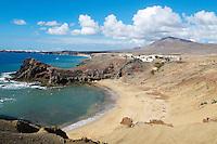 Espagne. Iles Canaries. Lanzarote. Playas de Papagayo// Spain. Canary islands. Lanzarote. Playas de Papagayo beach.