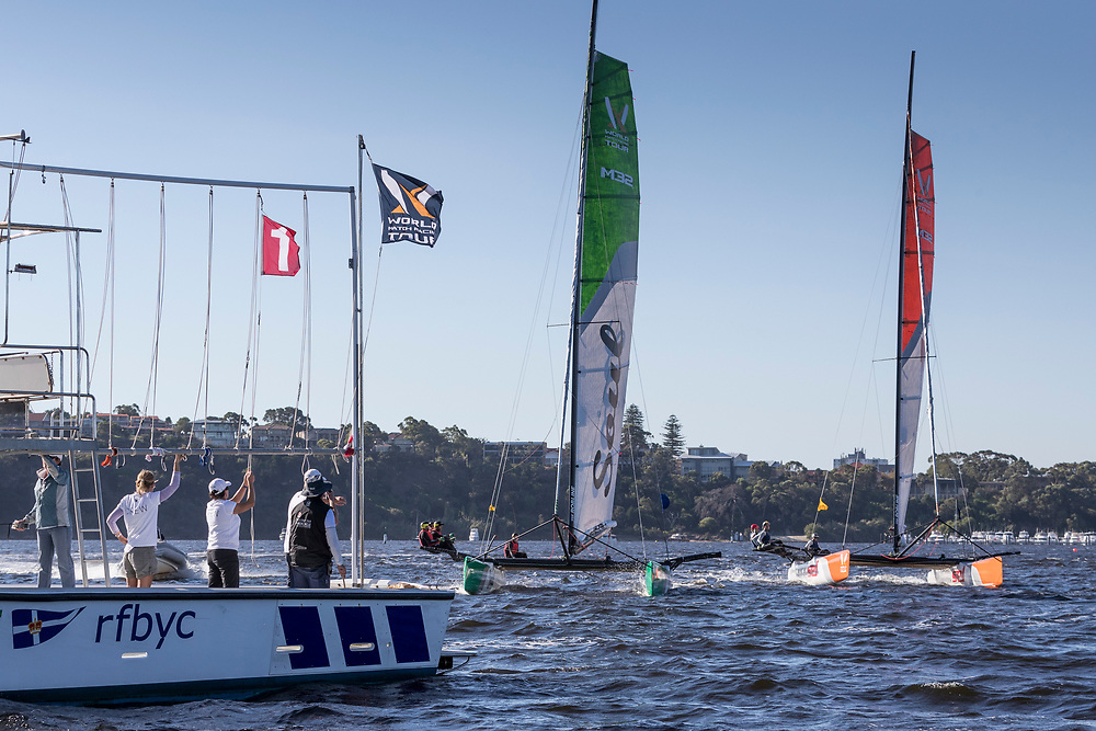 WMRT Match Cup Australia, Royal Freshwater Bay, Perth, WA. 24th March 2017.