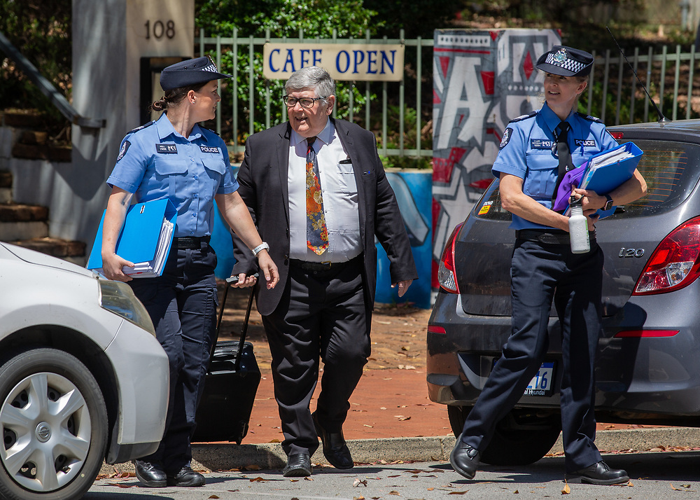 Prosecutor for Ben Cousins trial entering Armadale District Court today, Wednesday 28 October 2020, pic Tony McDonough