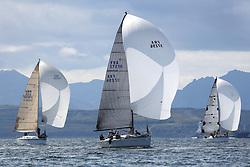 Peelport Clydeport, Largs Regatta Week 2014 Largs Sailing Club based at  Largs Yacht Haven.<br /> <br /> FRA37296, Salamander XXI, First 35, John Corson, FYC