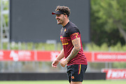 Picture by Laurent Selles/Catalans Dragons/via SWpix.com - 10/07/2020 Rugby League Betfred Super League 2020<br /> Back in training. Catalans Dragons' Arthur Romano back in training today at Stade Gilbert Brutus, Perpignan - France after the long lay off due to Coronavirus Covid 19 Pandemic