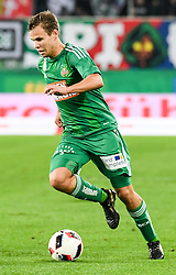15.10.2016, Allianz Arena, Wien, AUT, 1. FBL, SK Rapid Wien vs Cashpoint SCR Altach, 11. Runde, im Bild Louis Schaub (SK Rapid Wien) // during Austrian Football Bundesliga Match, 11th Round, between SK Rapid Vienna and Cashpoint SCR Altach at the Allianz Arena, Vienna, Austria on 2016/10/15. EXPA Pictures © 2016, PhotoCredit: EXPA/ Michael Gruber