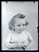 toddler portrait France, circa 1930s
