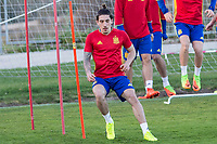 Hector Bellerin during the training of Spanish national team under 21 at Ciudad del El futbol  in Madrid, Spain. March 21, 2017. (ALTERPHOTOS / Rodrigo Jimenez)