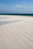 White sand on Matemwe Beach, Zanzibar, Tanzania