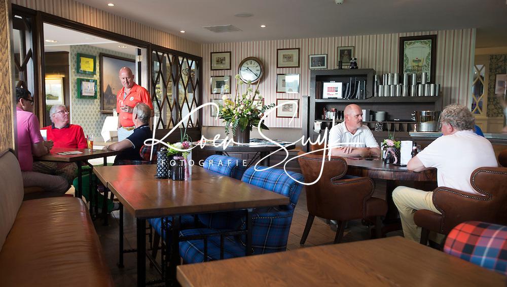 SPIJK - interieur clubhuis . Golfwedstrijd op The Dutch golfbaan . COPYRIGHT KOEN SUYK