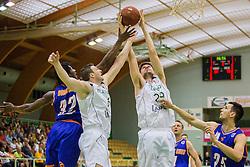 Branislav Dzekic of KK Zlatorog during basketball match between KK Zlatorog and KK Helios Suns in 1st match of Nova KBM Slovenian Champions League Final 2015/16 on May 29, 2016  in Dvorana Zlatorog, Lasko, Slovenia.  Photo by Ziga Zupan / Sportida