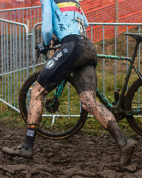 VAN AERT Wout (BEL) during Men Elite race, 2020 UCI Cyclo-cross Worlds Dübendorf, Switzerland, 2 February 2020. Photo by Pim Nijland / Peloton Photos   All photos usage must carry mandatory copyright credit (Peloton Photos   Pim Nijland)