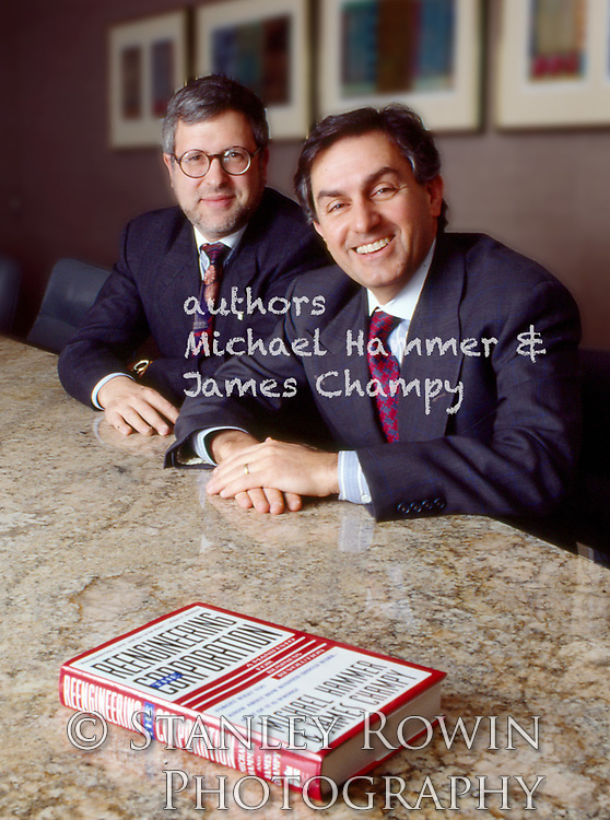 Authors Michael Hammer and James Champy