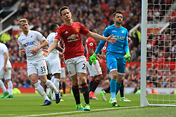 30th April 2017 - Premier League - Manchester United v Swansea City - Ander Herrera of Man Utd looks dejected - Photo: Simon Stacpoole / Offside.