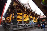 Longshan Daoist Temple in Taipei, Taiwan.