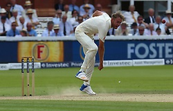 July 7, 2017 - London, United Kingdom - England's Stuart Broad .during 1st Investec Test Match between England and South Africa at Lord's Cricket Ground in London on July 06, 2017  (Credit Image: © Kieran Galvin/NurPhoto via ZUMA Press)