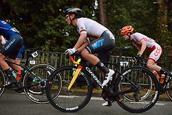 Lisa Brennauer (GER) at the 2020 UEC Road European Championships - Elite Women Road Race, a 109.2 km road race in Plouay, France on August 27, 2020. Photo by Sean Robinson/velofocus.com