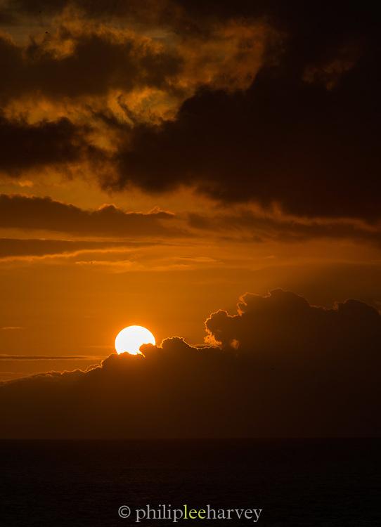 Sunrise, Galapagos, Islands, Ecuador, South America