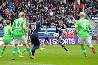 Fatmire Alushi - 26.04.2015 - Paris Saint Germain / Wolfsbourg - 1/2Finale Champions League feminine<br />Photo : Andre Ferreira / Icon Sport