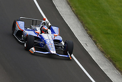 May 18, 2018 - Indianapolis, Indiana, United States of America - STEFAN WILSON (25) of England brings his car through turn one during ''Fast Friday'' practice for the Indianapolis 500 at the Indianapolis Motor Speedway in Indianapolis, Indiana. (Credit Image: © Chris Owens Asp Inc/ASP via ZUMA Wire)