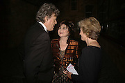 Tom Stoppard, Miriam Stoppard and Jenny Cate, The Blush Ball, Natural History Museum, London<br />