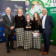 27.04.2016.          <br />  Kalin Foy and Ciara Coyle win SciFest@LIT<br /> Kalin Foy and Ciara Coyle from Colaiste Chiarain Croom to represent Limerick at Ireland's largest science competition.<br /> <br /> Hazelwood College students, Roisin Normoyle, Aoife O'Callaghan and Ciara McCarthy's project, Does wisdom come with age?, won the EPISTEM best use of maths project. Roisin Normoyle, Aoife O'Callaghan and Ciara McCarthy are  pictured with George Porter, SciFest and Brian Aherne, Intel<br /> <br /> Of the over 110 projects exhibited at SciFest@LIT 2016, the top prize on the day went to Kalin Foy and Ciara Coyle from Colaiste Chiarain Croom for their project, 'To design and manufacture wireless trailer lights'. The runner-up prize went to a team from John the Baptist Community School, Hospital with their project on 'Educating the Youth of Ireland about Farm Safety'. Picture: Fusionshooters