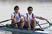Mcc0038874 . Daily Telegraph..DT Sport.Lightweight Men's Double Scull Zac Purchase and Mark Hunter.The announcement of the GB Rowing Crews for the first World Cup.. .Reading 4 April 2012