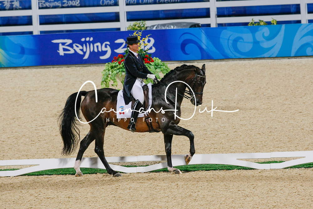 Brooks Jacquline (CAN) - Gran Gesto<br /> Olympic Games Hong Kong 2008<br /> Photo © Dirk Caremans - Hippo Foto