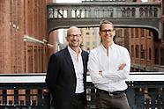 High Line Co-Founders Portraits   Joshua David and Robert Hammond