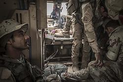 November 2, 2016 - Iraqi army soldiers are entering to Mosul. (Credit Image: © Bertalan Feher via ZUMA Wire)