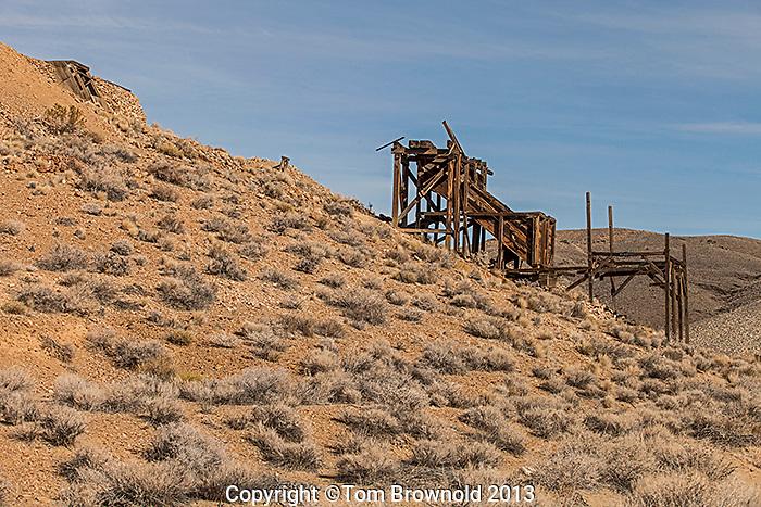 Eureka Mine in the Panamint Range.