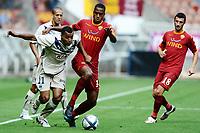 FOOTBALL - TOUNOI DE PARIS 2010 - AS ROMA v GIRONDINS BORDEAUX - 31/07/2010 - PHOTO GUY JEFFROY / DPPI - DAVID BELLION (BOR) / RICARDO FATY (ROMA)