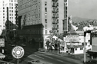 1972 Looking north on Vine St. towards Hollywood Blvd.