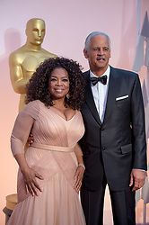 Feb 22, 2015 - Hollywood, California, U.S. - OPRAH WINFREY, Oscar nominee for Achievement in Best Picture, for work on ''Selma'' arrives with STEDMAN GRAHAM for the live ABC Telecast of The 87th Oscars at the Dolby Theatre. (Credit Image: © Matt Petit/AMPAS/ZUMAPRESS.com)