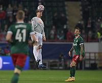 MOSCOW, RUSSIA - OCTOBER 27:  Javi Martínez of Bayern Muenchen during the UEFA Champions League Group A stage match between Lokomotiv Moskva and FC Bayern Muenchen at RZD Arena on October 27, 2020 in Moscow, Russia. (Photo by MB Media)