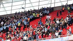 Crowd trouble at Wembley between Millwall supporters and Barnsley supporters - Mandatory by-line: Robbie Stephenson/JMP - 29/05/2016 - FOOTBALL - Wembley Stadium - London, England - Barnsley v Millwall - Sky Bet League One Play-off Final