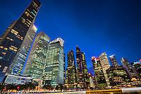 Downtown Singapore @ Dusk