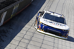 April 13, 2018 - Bristol, Tennessee, United States of America - April 13, 2018 - Bristol, Tennessee, USA: Elliott Sadler (1) brings his car down the backstretch during final practice for the Fitzgerald Glider Kits 300 at Bristol Motor Speedway in Bristol, Tennessee. (Credit Image: © Chris Owens Asp Inc/ASP via ZUMA Wire)