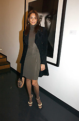ASTRID MUNOZ at a private view of an exhibition of portrait photographs by Danish photographer Marc Hom held at the Hamiltons Gallery, 13 Carlos Place, London on 23rd October 2006.<br /><br />NON EXCLUSIVE - WORLD RIGHTS