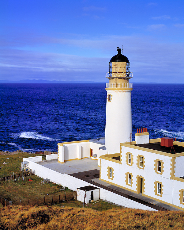 The Rubha Reidh Lighthouse is now a bed-&-breakfast in the NW Highlands of Scotland.