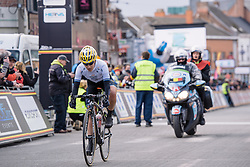 Emma Johansson has to settle for second place - Le Samyn des Dames 2016, a 113km road race from Quaregnon to Dour, on March 2, 2016 in Hainaut, Belgium.