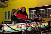 Proteje album launch at Tuff Gong Studios, Kingston, Jamaica.