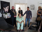 PATTI BRATBY, Patti Bratby visiting the house she shared with John Bratby in Belmont Rd . Hastings. 22 March 2016