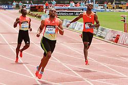 Samsung Diamond League adidas Grand Prix track & field; Mens 100 meters, B race, Tyson Gay, winner