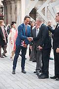 RICHARD E. GRANT; STEPHEN DALDRY, Celebration of the Arts. Royal Academy. Piccadilly. London. 23 May 2012.
