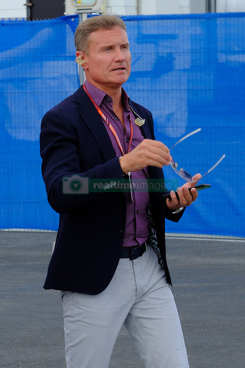 June 23, 2018 - Le Castellet, Var, France - former Formula one driver DAVID COULTHARD (GBR) at the Formula one Grand Prix of France on the Paul Ricard circuit at Le Castellet - France. (Credit Image: © Pierre Stevenin via ZUMA Wire)