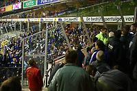 Fotball<br /> Belgia 2002/2003<br /> 05.10.2003<br /> Anderlecht v Brugge / Brügge<br /> Tribunebråk - Hooligans<br /> Foto: Digitalsport<br /> Norway Only