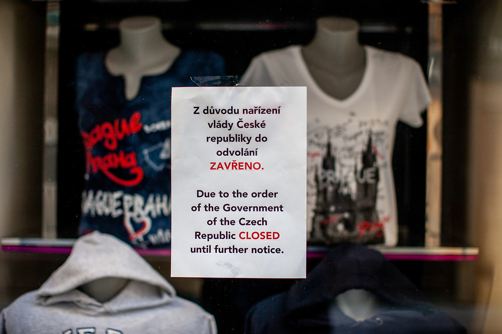 Almost all shops in Prague are closed. On March 1st, 2021 the state of emergency in the Czech Republic was reinstalled because of fast increasing numbers in infections. The lockdown was reinstated and the restriction of the free movement of people has taken effect. Currently, the country remains at the highest stage of the anti-epidemiological system and the newly imposed restriction will last at least three weeks to curb the epidemic.